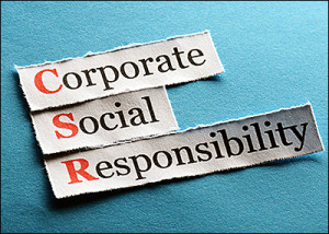 Corporations neglect their social responsibility when they practice corruption.
