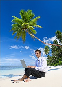 The U.S. Patent and Trademark Office employs numerous telecommuters, who officials believe are spending more time vacationing than working.