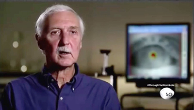 """EyeDetect, a new lie detection technology by Converus, was recently featured on an episode of the Science Channel's """"Through the Wormhole."""""""