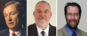 Converus Advisory Board Members (left to right): Don Krapohl, Charles Honts and Mark Handler.