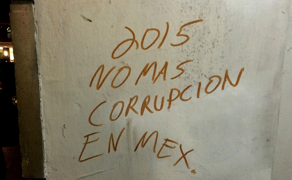 no corruption in Mexico