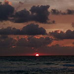 Cancun – Sunrise cropped 150px